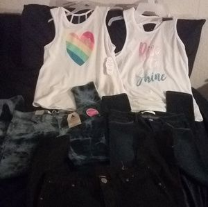 New girls clothes.